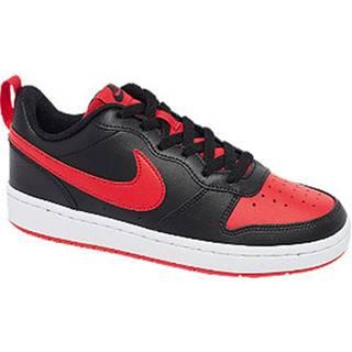 Čierno-červené tenisky Nike Court Borough 2