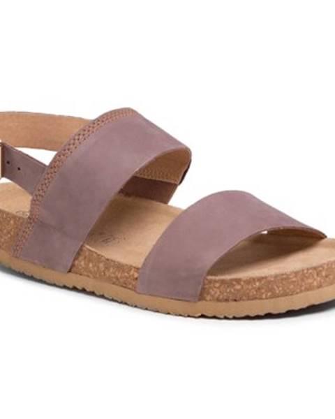 Šedé sandále Lasocki