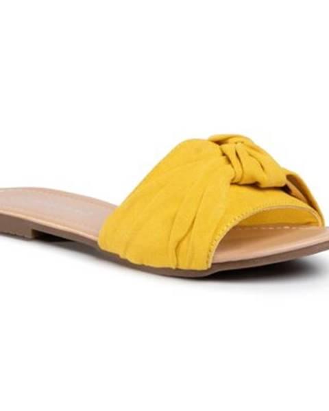 Žlté topánky Bassano