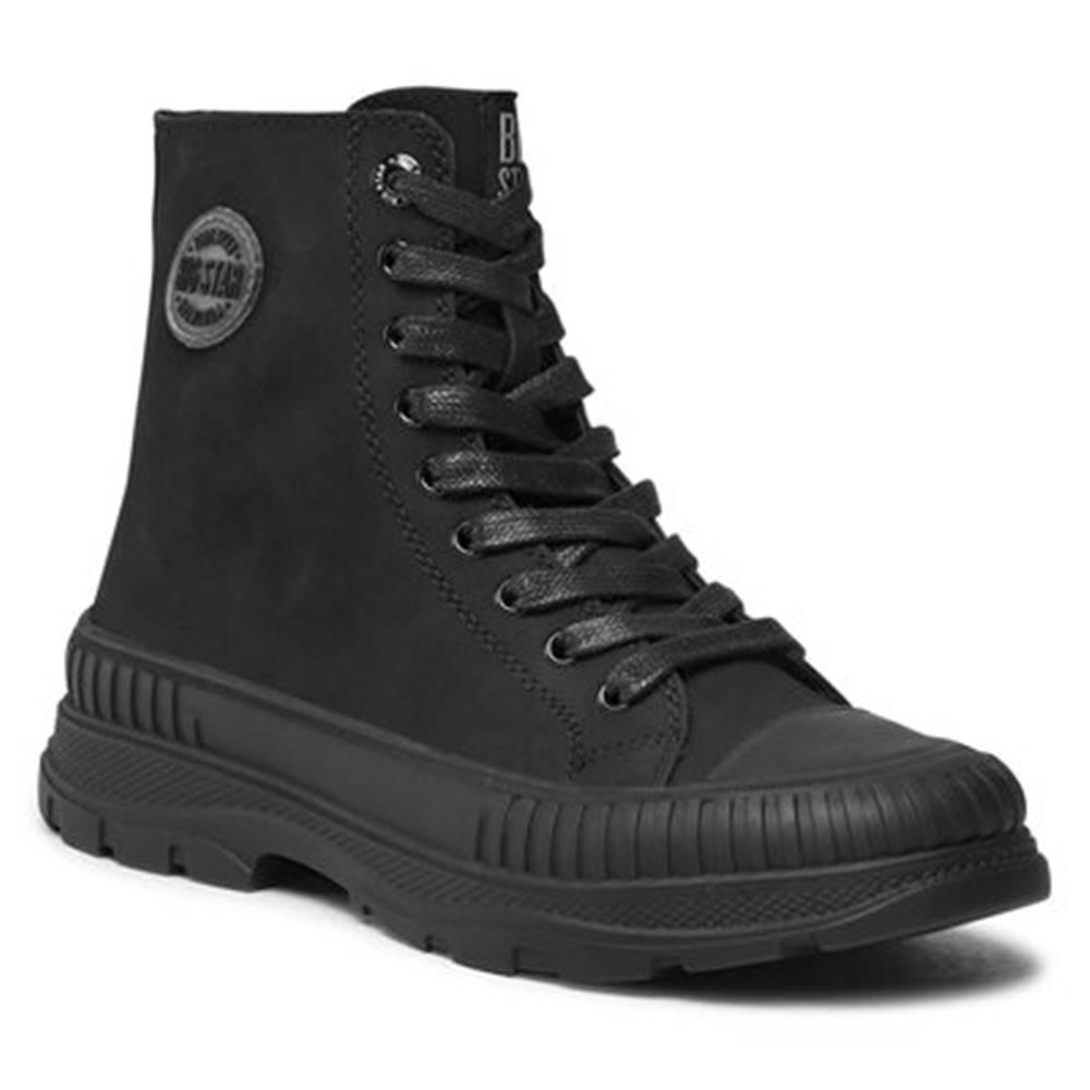 Big Star Šnurovacia obuv  II274351C Imitácia kože/-Imitácia kože