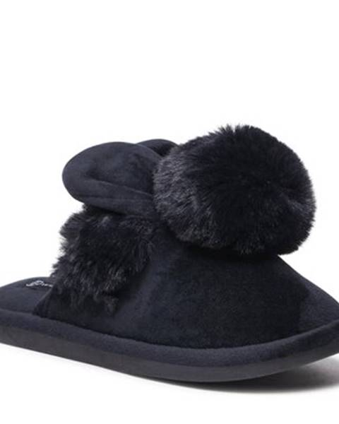Čierne papuče Home&Relax