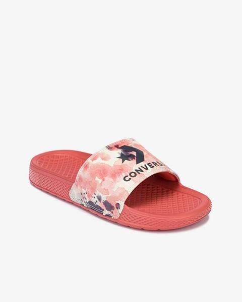 Ružové papuče Converse