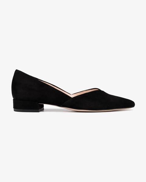 Čierne topánky Högl