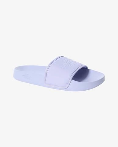 Fialové papuče The North Face