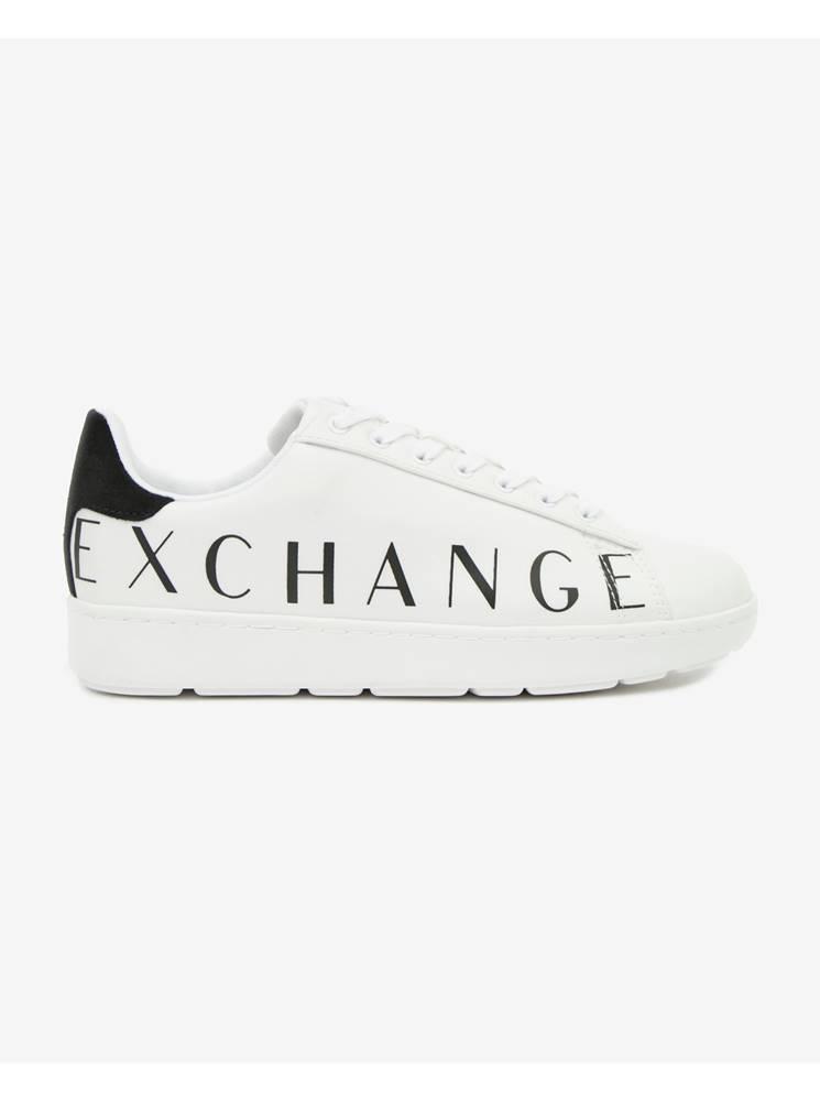 Armani Exchange Tenisky, espadrilky pre mužov  - biela
