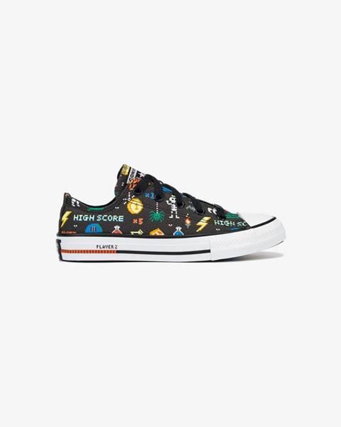 Čierne topánky Converse