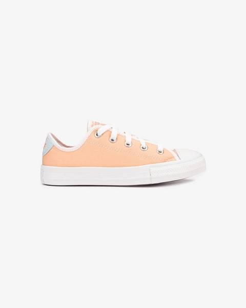 Oranžové topánky Converse