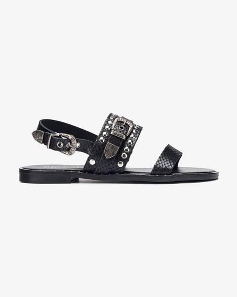 Čierne sandále Replay