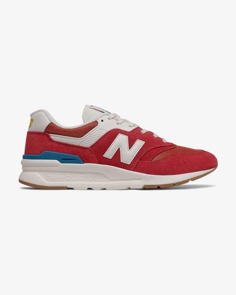 Červené tenisky New Balance