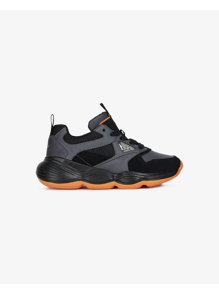 Geox čierna, oranžová