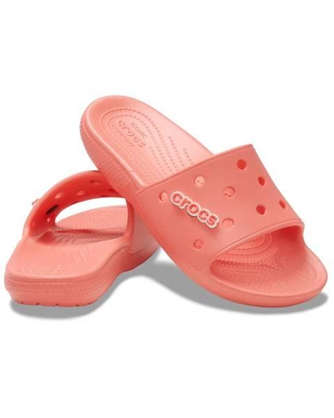 Svetloružové papuče Crocs