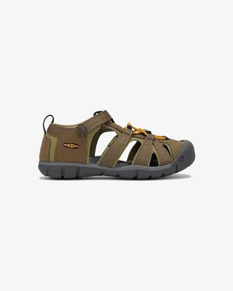 Zelené topánky Keen