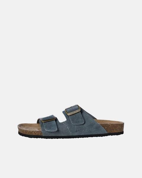 Sivé sandále Jack & Jones