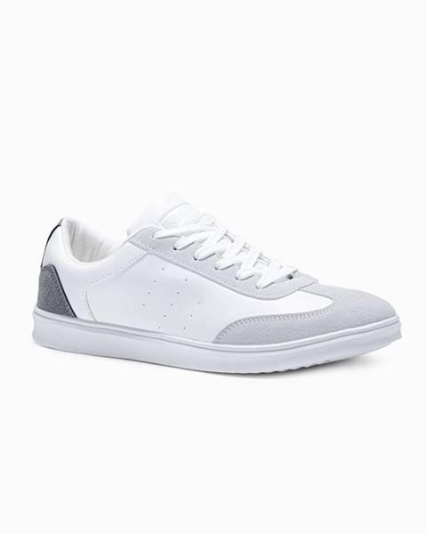 Biele tenisky Ombre Clothing