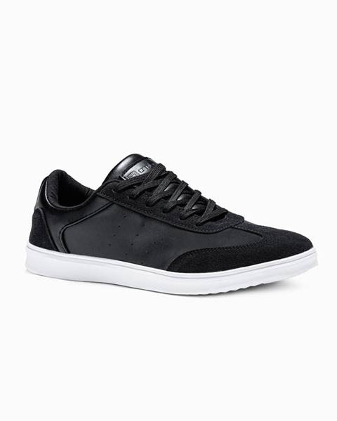 Čierne tenisky Ombre Clothing