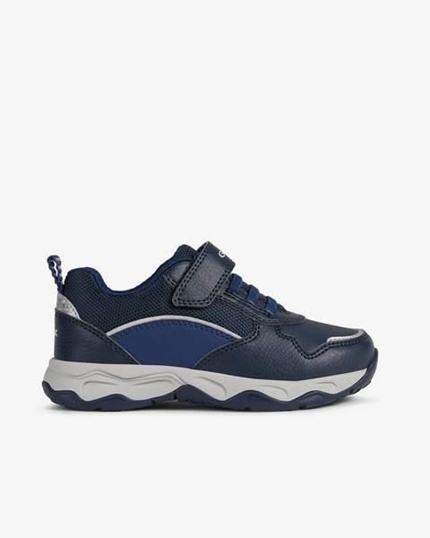 Tmavomodré topánky Geox