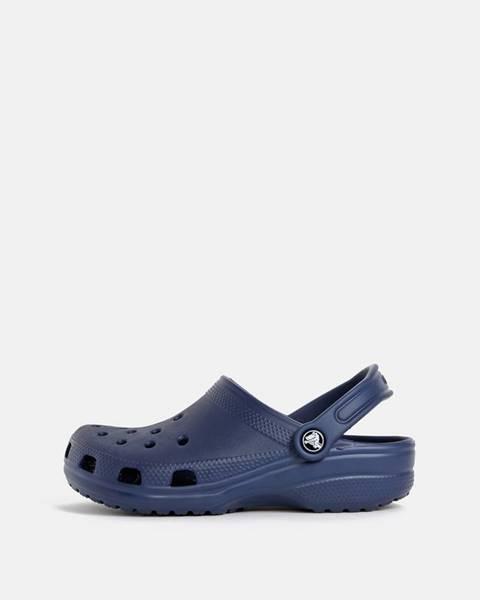 Tmavomodré sandále Crocs