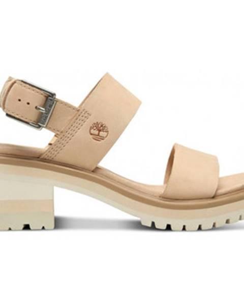 Béžové sandále Timberland