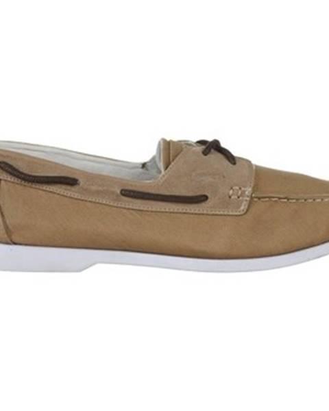 Hnedé topánky Lacoste