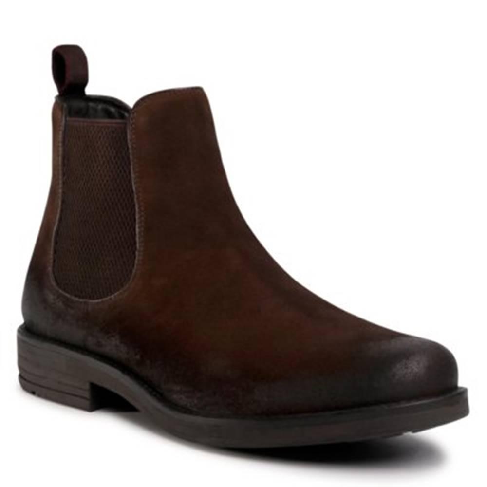 Lasocki for men Členkové topánky Lasocki for men MI08-C608-586-16 Prírodná koža(useň) - Zamš