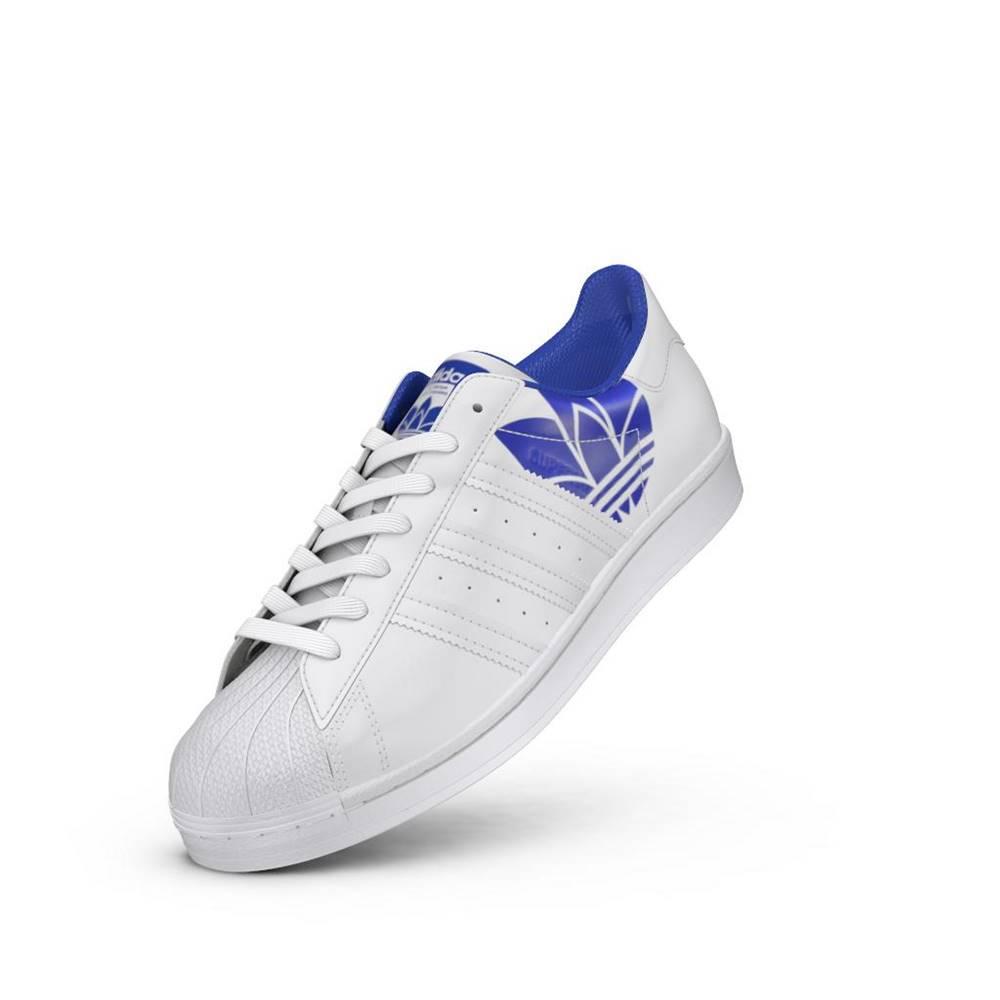 adidas Originals adidas Superstar Ftw White/ Ftw White/ Royal Blue