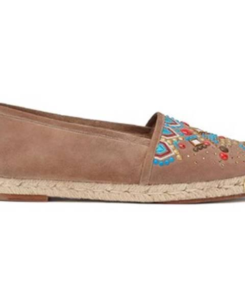 Hnedé topánky Giuseppe Zanotti