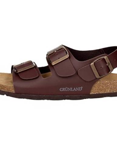 Hnedé sandále Grunland