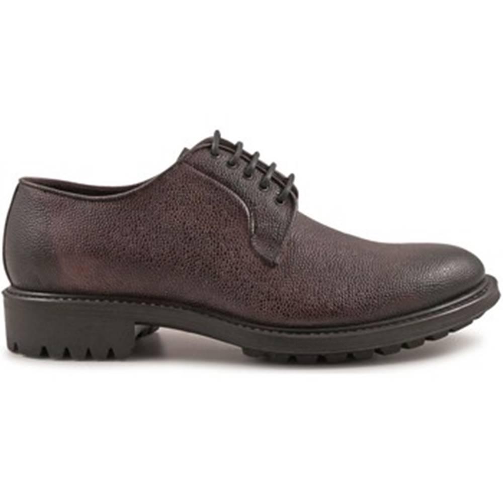 Leonardo Shoes Derbie Leonardo Shoes  4811 SCOZIA DELAVE BORDEAUX I