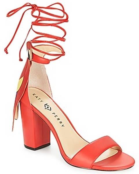 Červené topánky Katy Perry