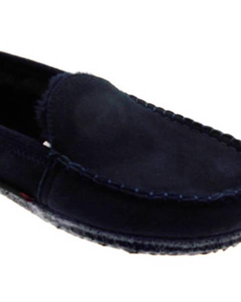 Modré topánky Giesswein