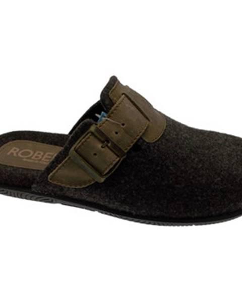 Hnedé topánky Robert