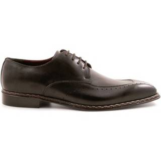 Derbie Leonardo Shoes  2816/2 TAMP.DELAVE NERO