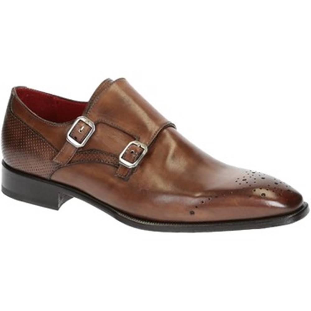 Leonardo Shoes Mokasíny Leonardo Shoes  06896 14221 SCA MONTECARLO DELAVE BR