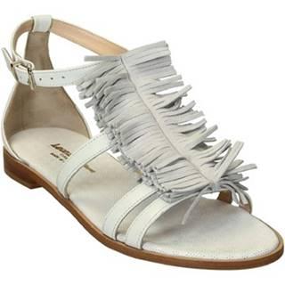 Sandále Leonardo Shoes  T11 NAPPA BIANCO