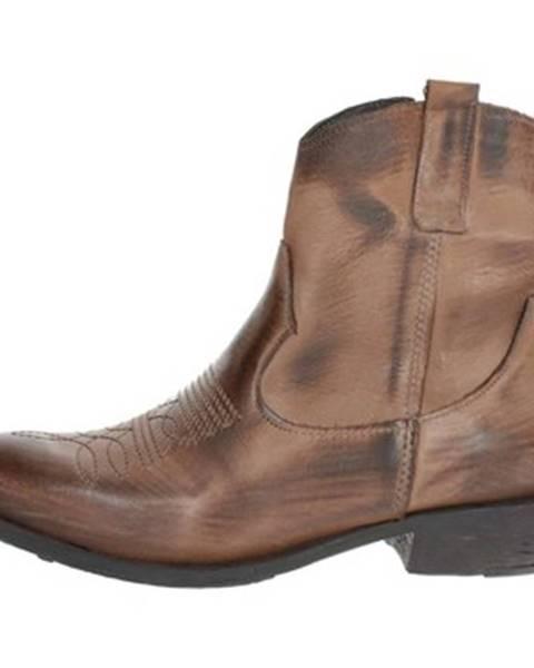 Hnedé topánky Tfa