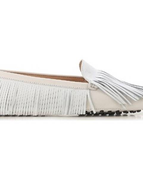 Biele topánky Tod's