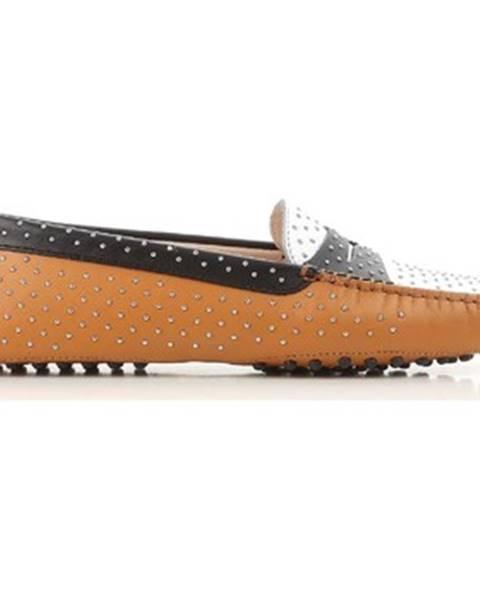 Viacfarebné topánky Tod's