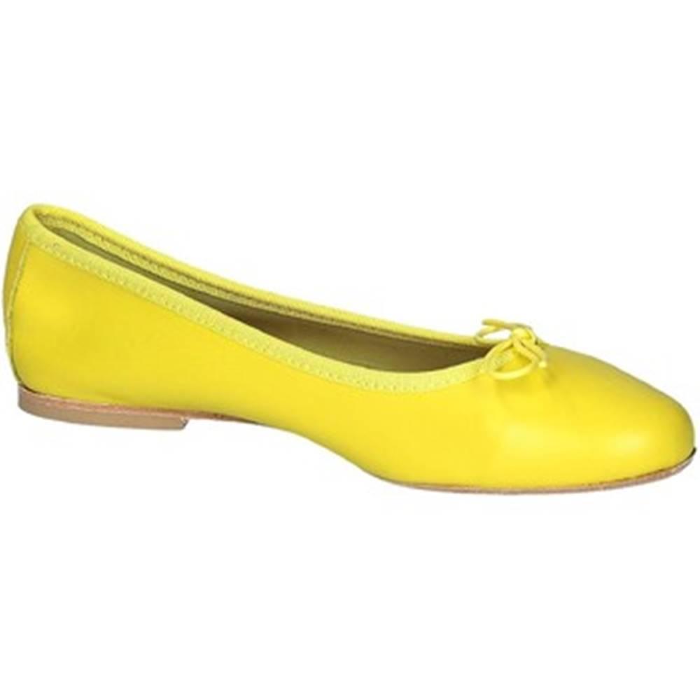 Leonardo Shoes Balerínky/Babies Leonardo Shoes  6087 CUOIO NAPPA CEDRO