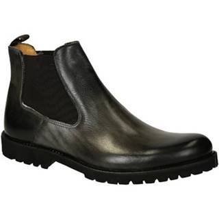 Polokozačky Leonardo Shoes  T042 SIVIGLIA GRIGIO