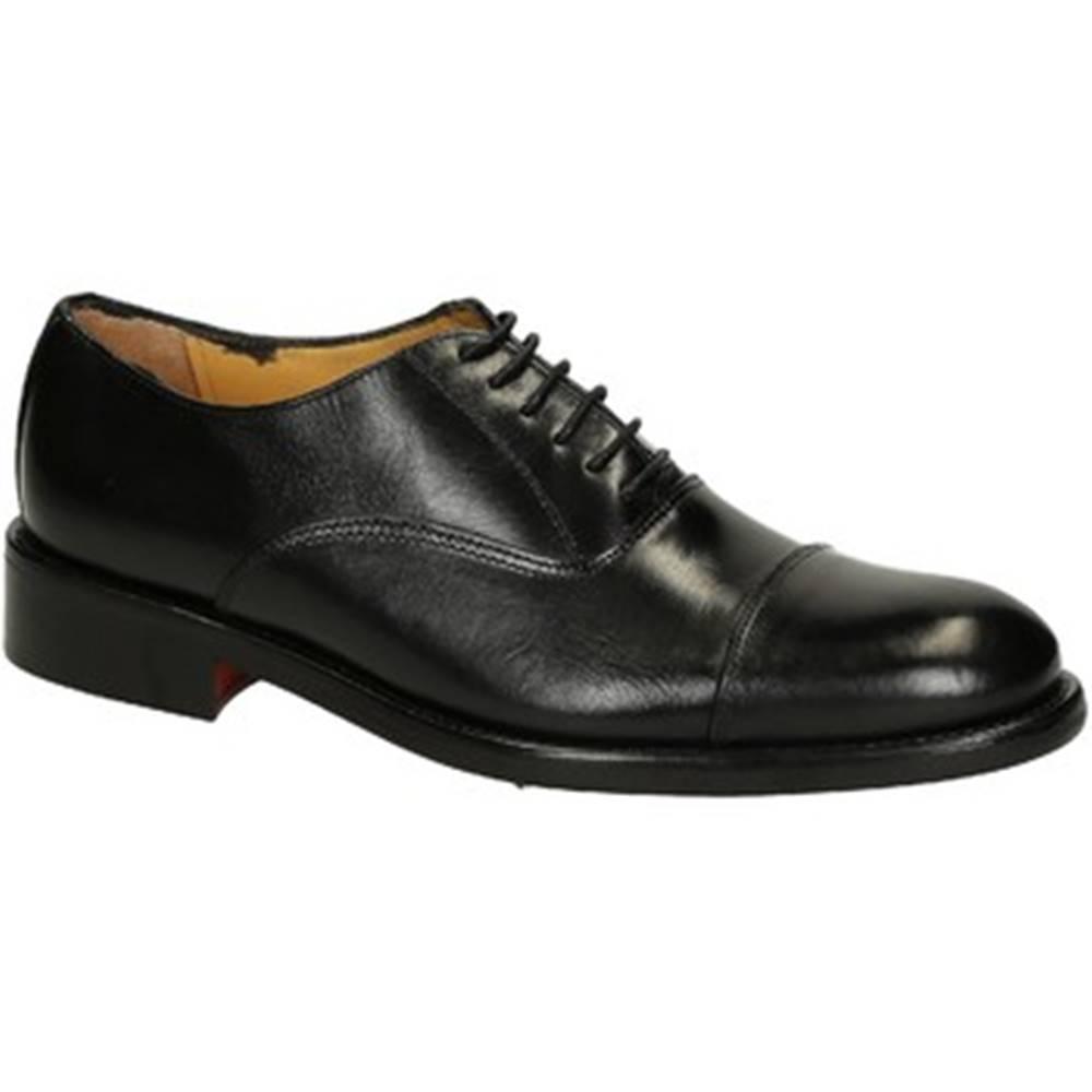 Leonardo Shoes Derbie Leonardo Shoes  T110 SIVIGLIA NERO