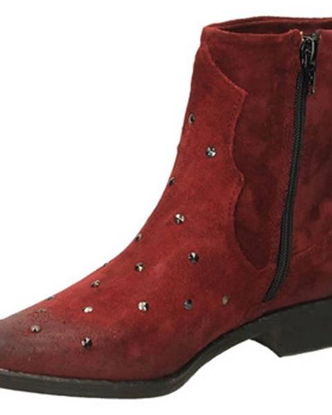 Červené topánky Fabbrica Dei Colli