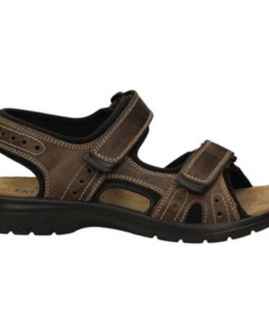 Hnedé športové sandále Enval