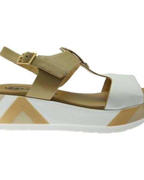 Biele topánky Calzaturificio Loren