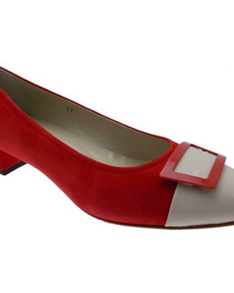 Červené topánky Calzaturificio R.p