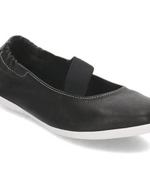 Čierne topánky Softinos