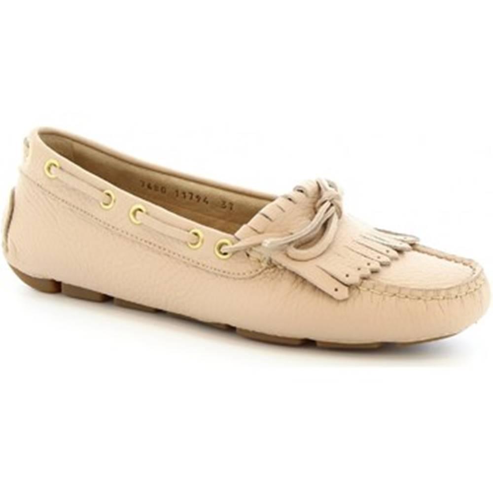 Leonardo Shoes Balerínky/Babies Leonardo Shoes  7680 MOUSSE SKIN