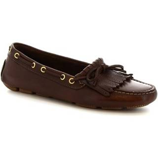 Balerínky/Babies Leonardo Shoes  7680  MOUSSE TESTA DI MORO