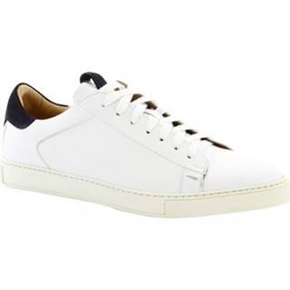 Nízke tenisky Leonardo Shoes  7729 TOM FRANCH BIANCO