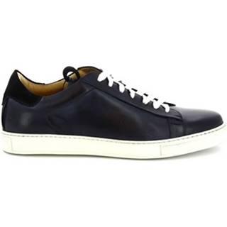 Nízke tenisky Leonardo Shoes  7729 TOM FRANCH NAVY 018