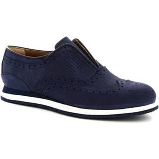 Derbie Leonardo Shoes  379_3 PE NABUK BLUE